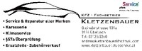 KFZ Kletzenbauer