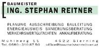 BAUMEISTER ING. STEPHAN REITNER