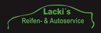 Lacki's Reifen- & Autoservice, Kfz Fachbetrieb, Pannendienst 24h im Reifensektor