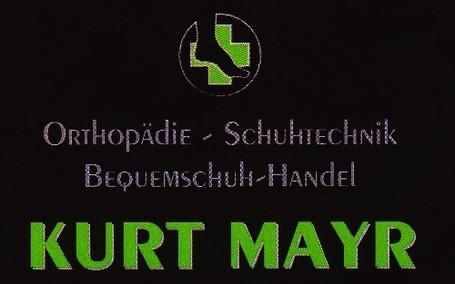 Orthopädie  Schuhtechnik - Bequemschuh - Handel Kurt Mayr
