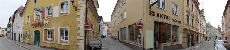 Aussenansicht Stadtgeschäft Freistadt