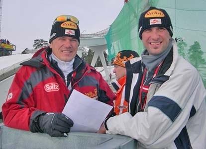 Gerhard begleitete die Nordischen Kombinierer nach Lahti/ Finnland