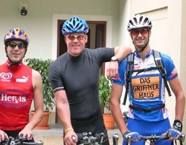 Trainingscamp mit zwei Triathleten auf Mallorca