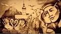 Sandmalerei-Show
