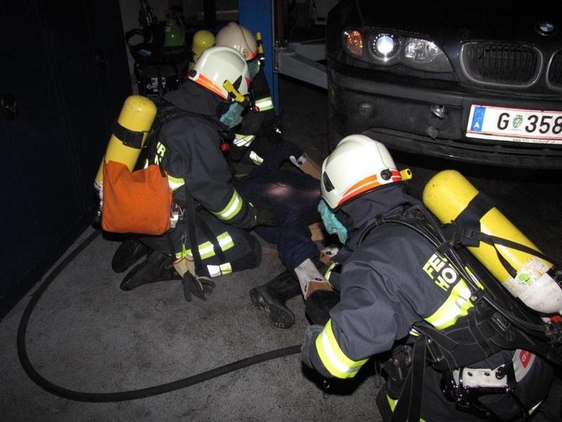 Einsatzübung: Brandeinsatz