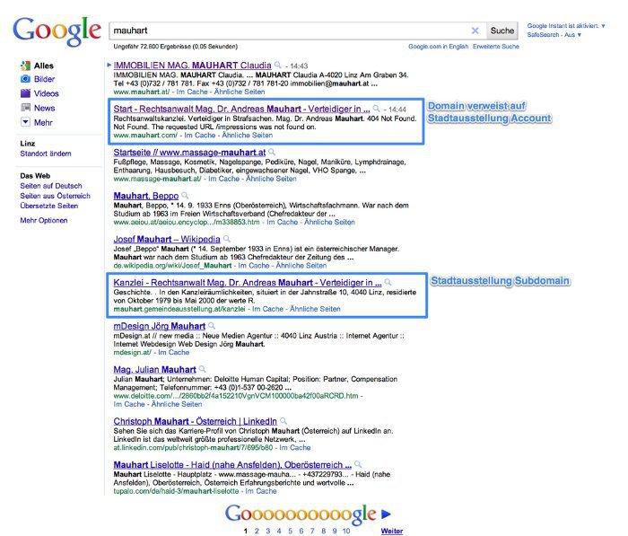 google mauhart