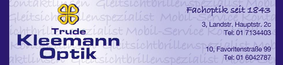 optik Kleemann banner