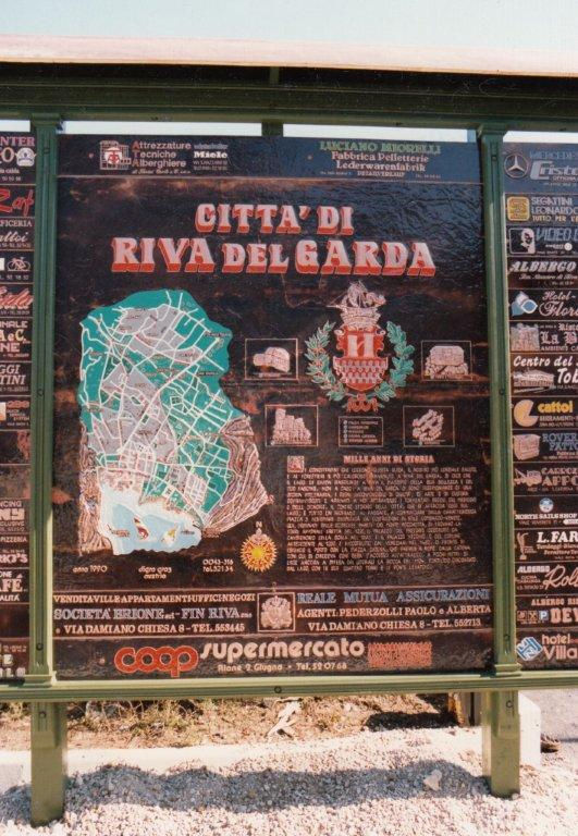 Kupfertafeln Riva del Garda