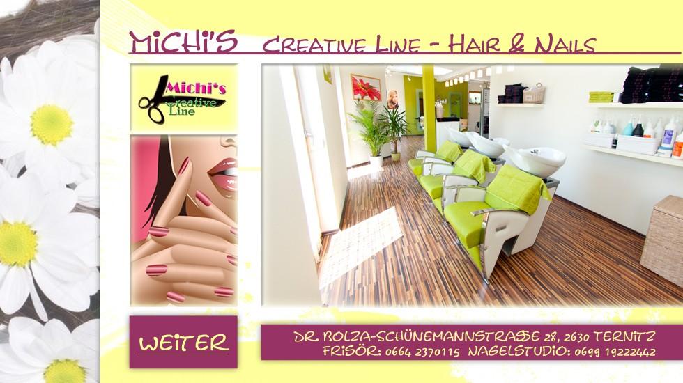 Creative line Startseite