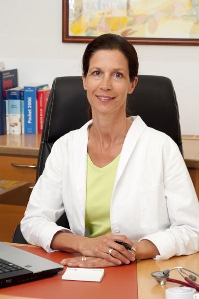 Dr. Gabriele Mayer - Fachärztin für Innere Medizin - Portrait