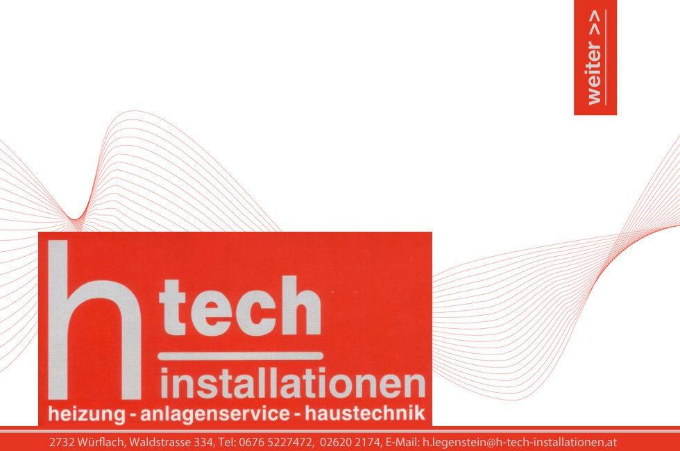 htech installation heizung haustechnik