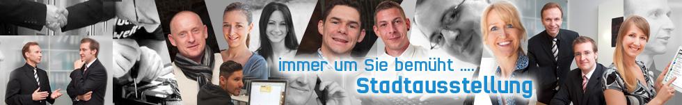 Banner Team - Stadtausstellung