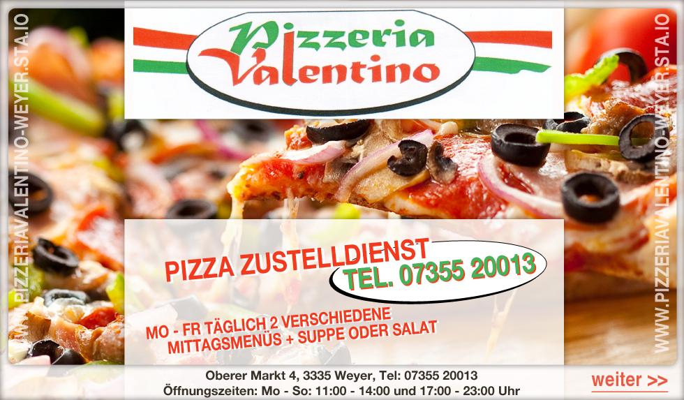 pizzeria valentino weyer