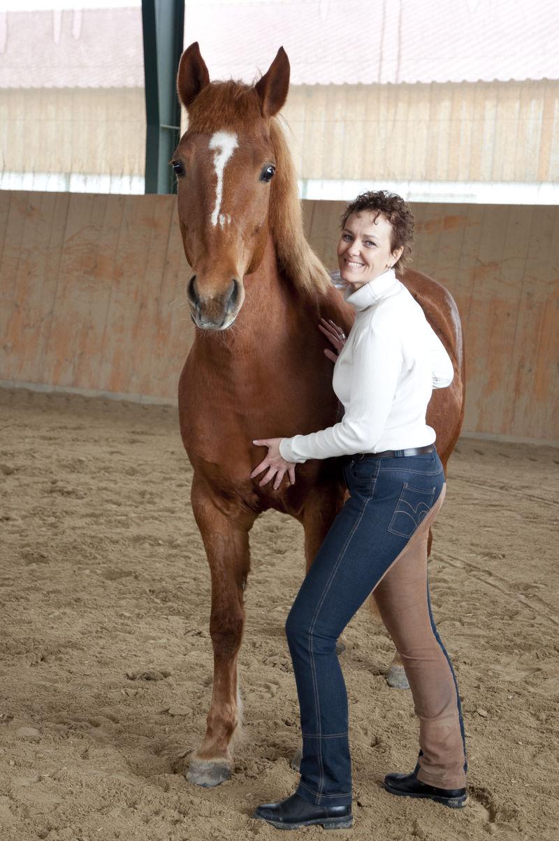Pferdemassage