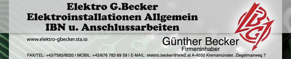 elektro gbecker Banner Kopie