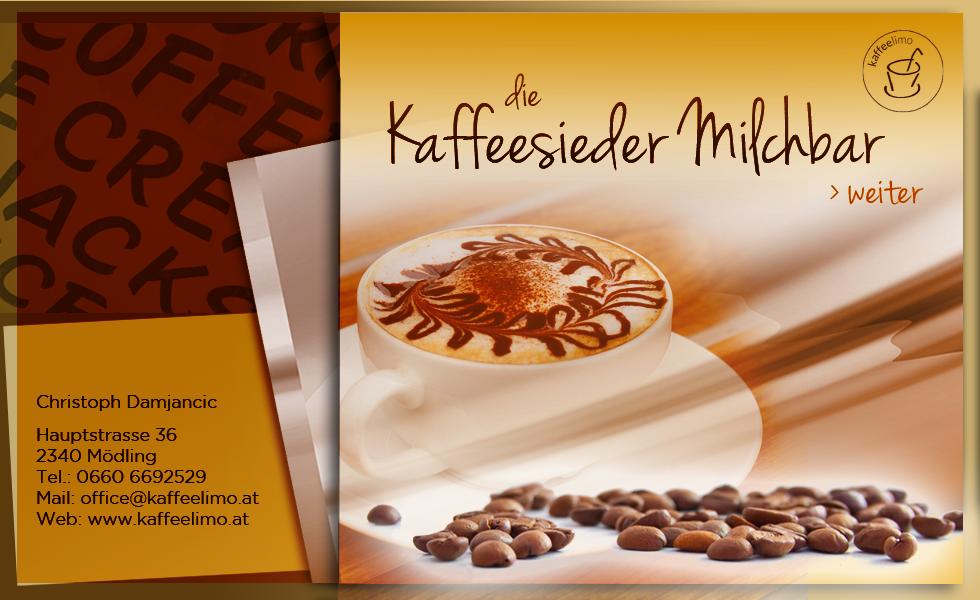 Die Kaffeesieder Milchbar start