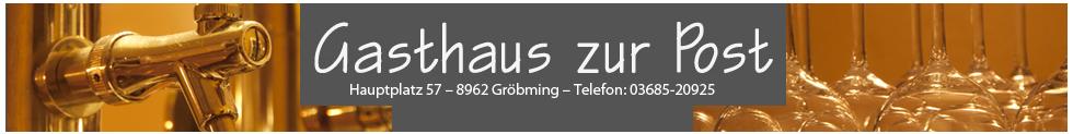 gasthaus post banner