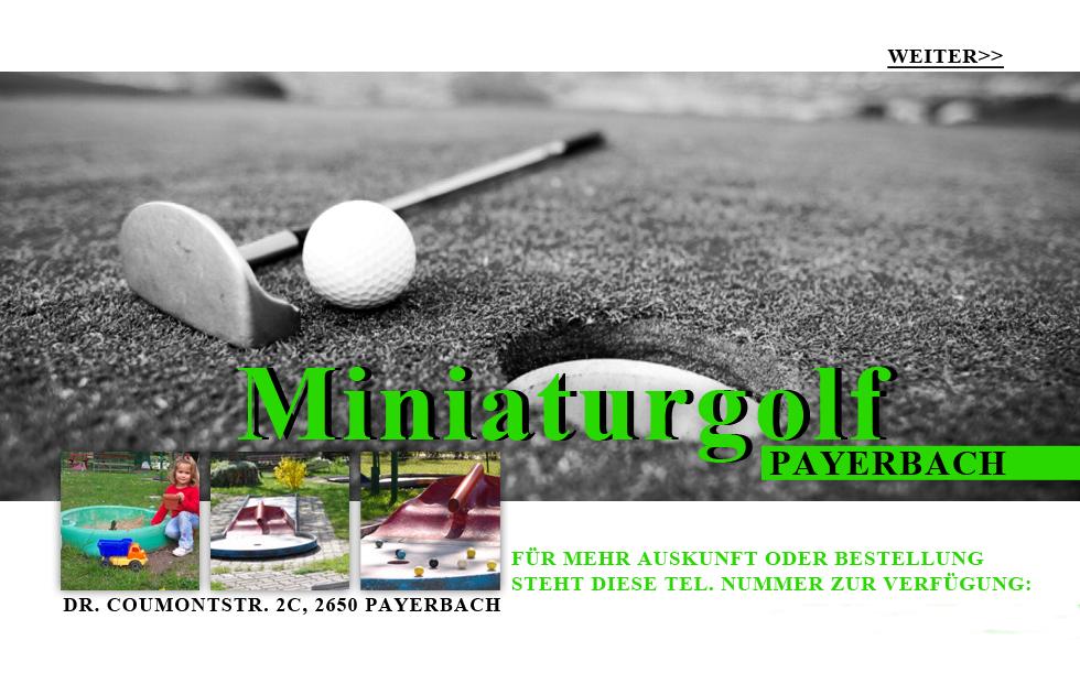 start miniaturgolf
