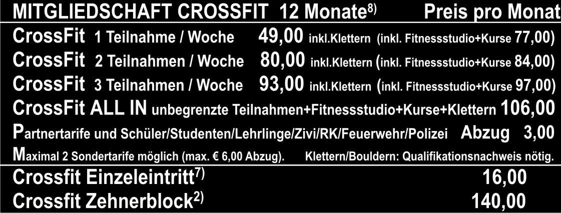 Preisliste RS Okt16 Crossfit