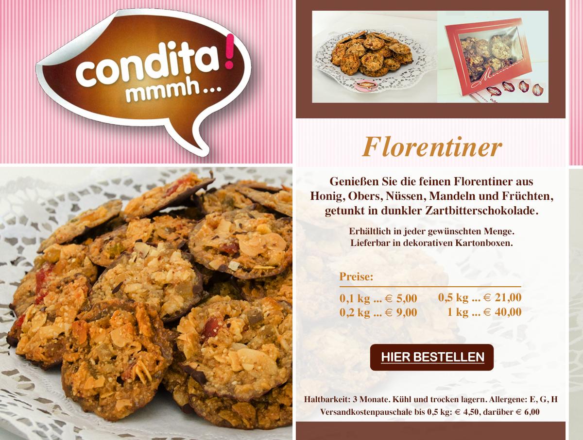 Florentiner Online bestellen