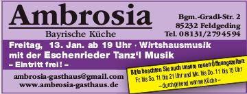 Eschenrieder Tanz'l Musik