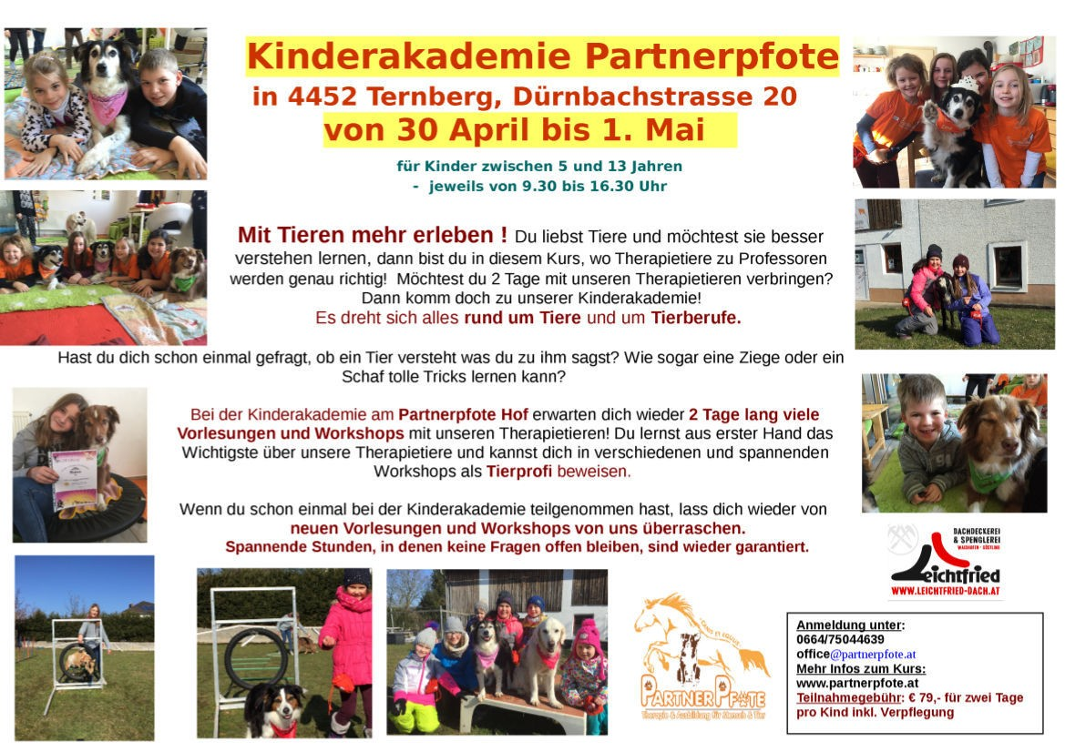 Kinderakademie April 2018
