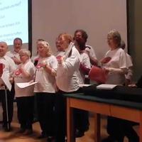 1. Auftritt des Aphasiechor Wien, am 22. Oktober 2014