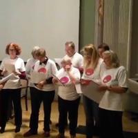 3. Auftritt des Aphasiechor Wien, am 27. Oktober 2015