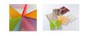 Plexiglas satinice und Acrylglas mit eingearbeiteten Naturmaterialien