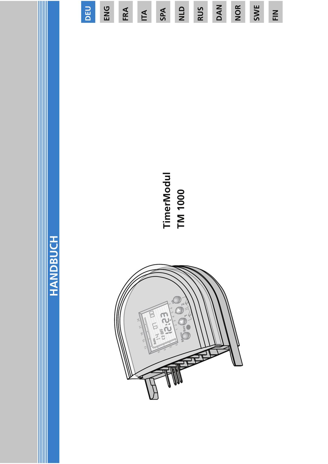 Raumthermostat Timermodul