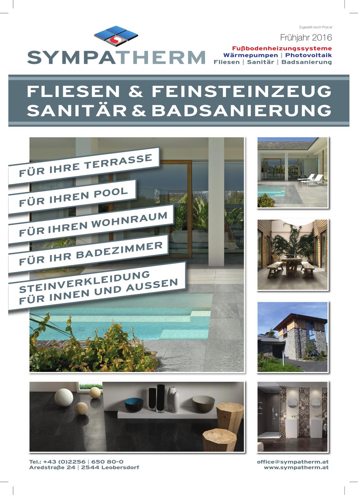 Sympatherm Flugblatt 01/2016