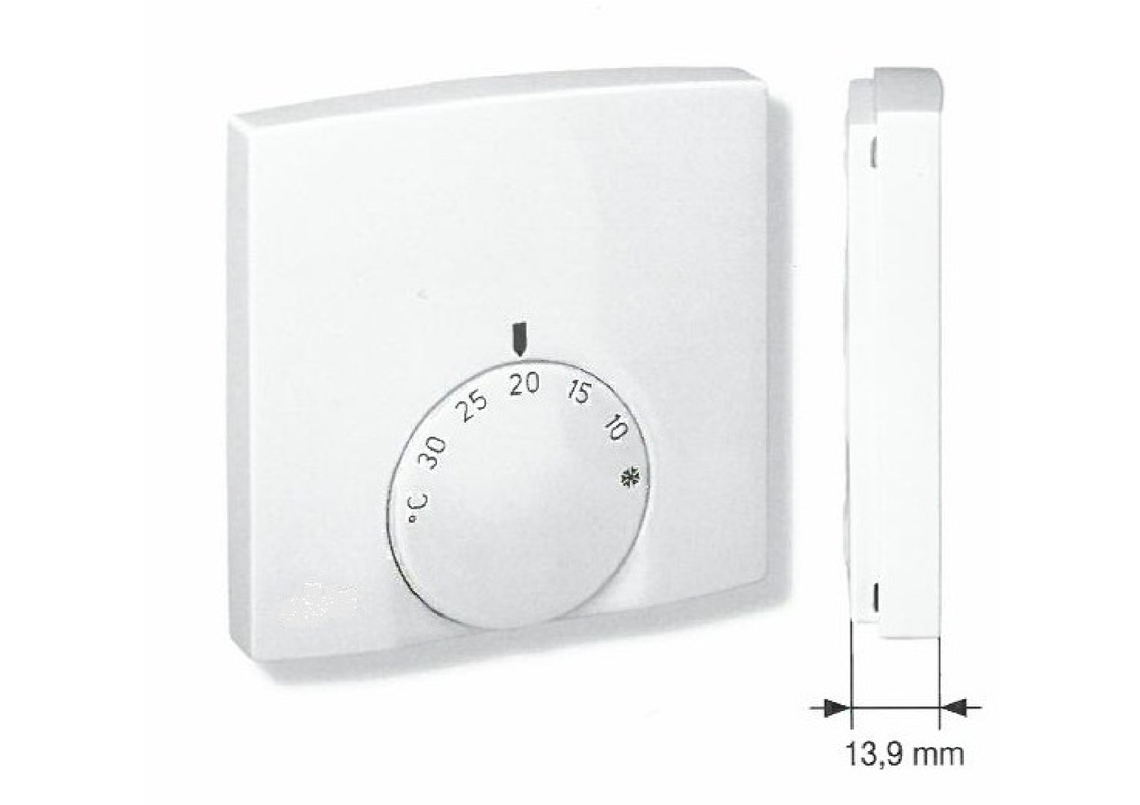 Raumthermostat superflach