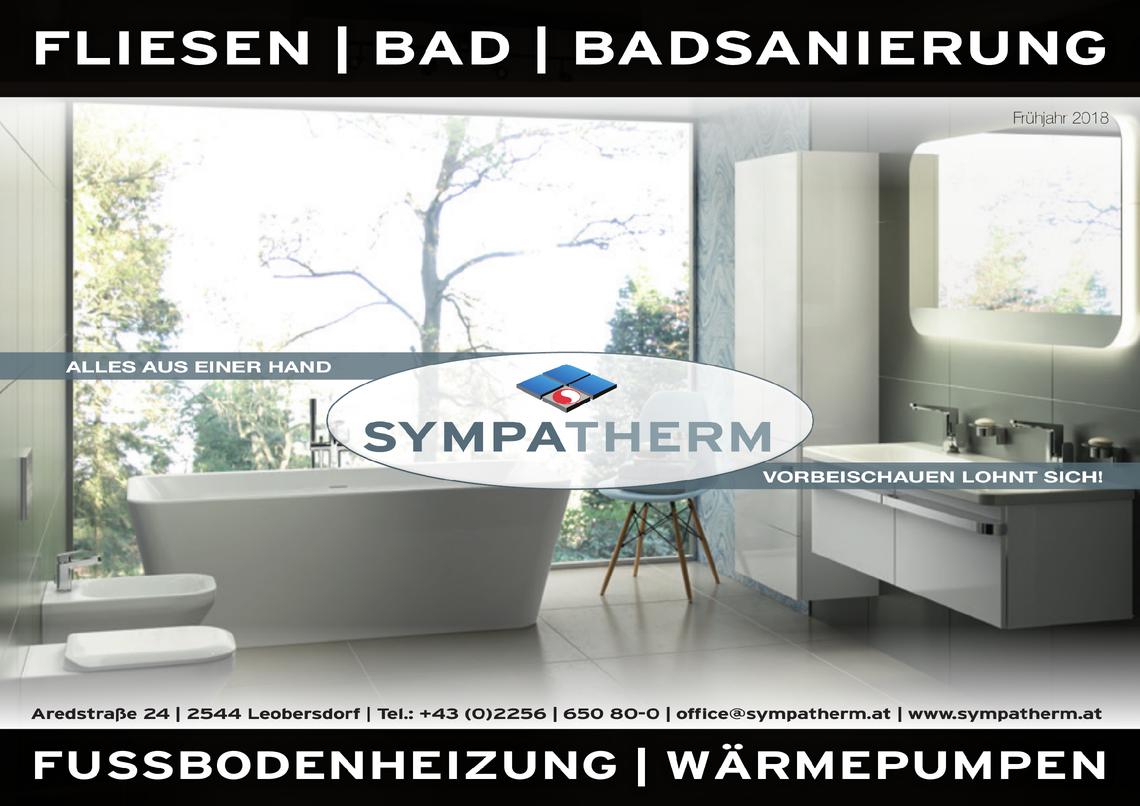 Sympatherm Flugblatt 03/2018
