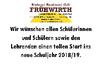 Schulstart 2018/19