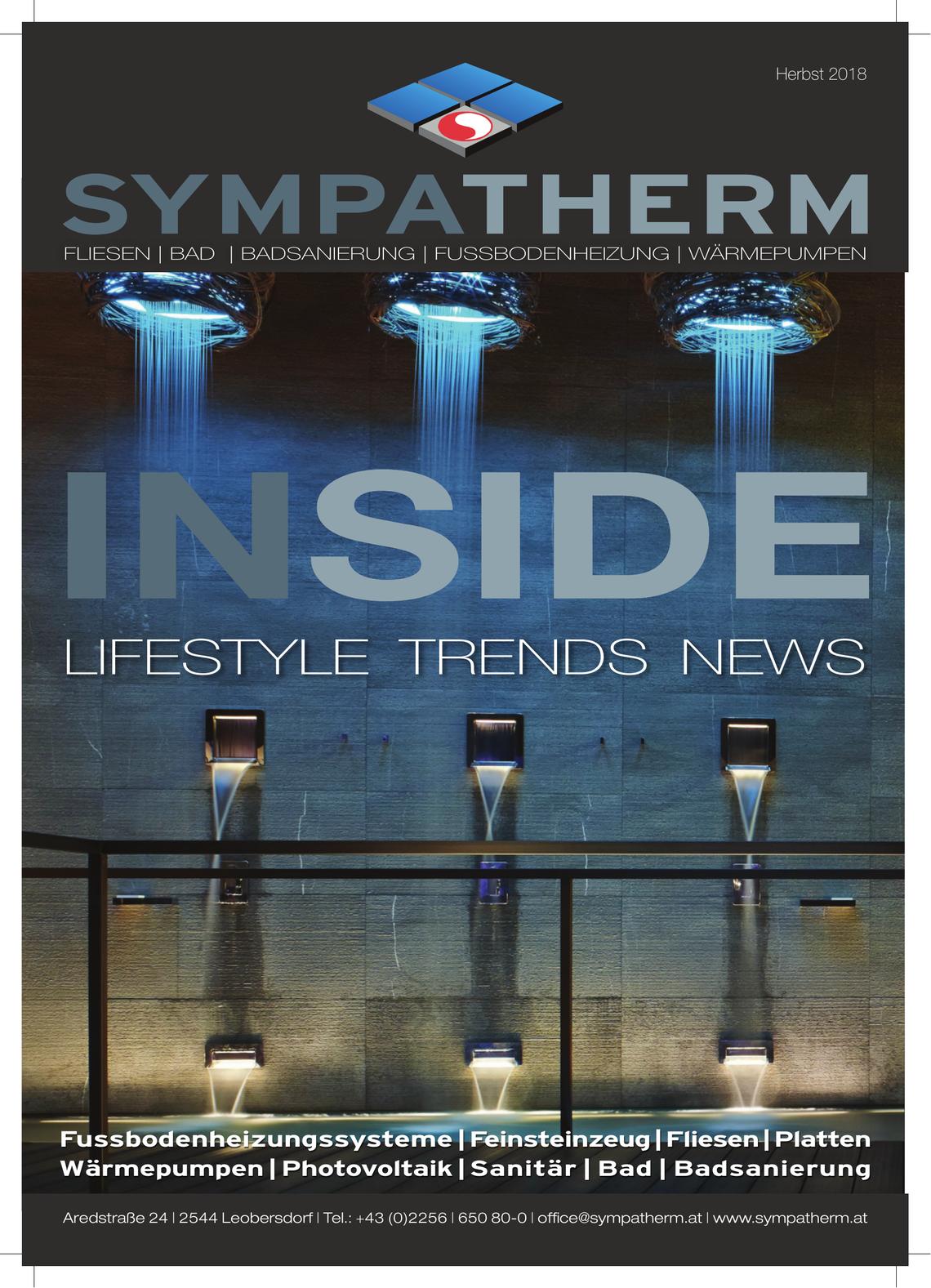 Sympatherm INSIDE 2018
