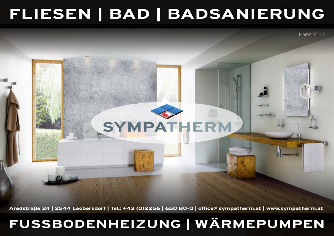 Sympatherm Flugblatt 08/2017