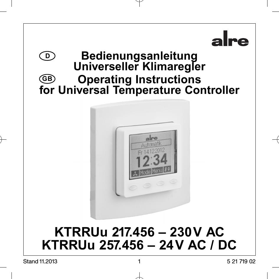 Raumthermostat digital - heizen/kühlen