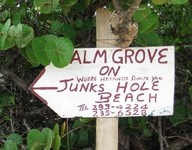 Palm Grove Sign