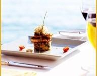 dessert on beach