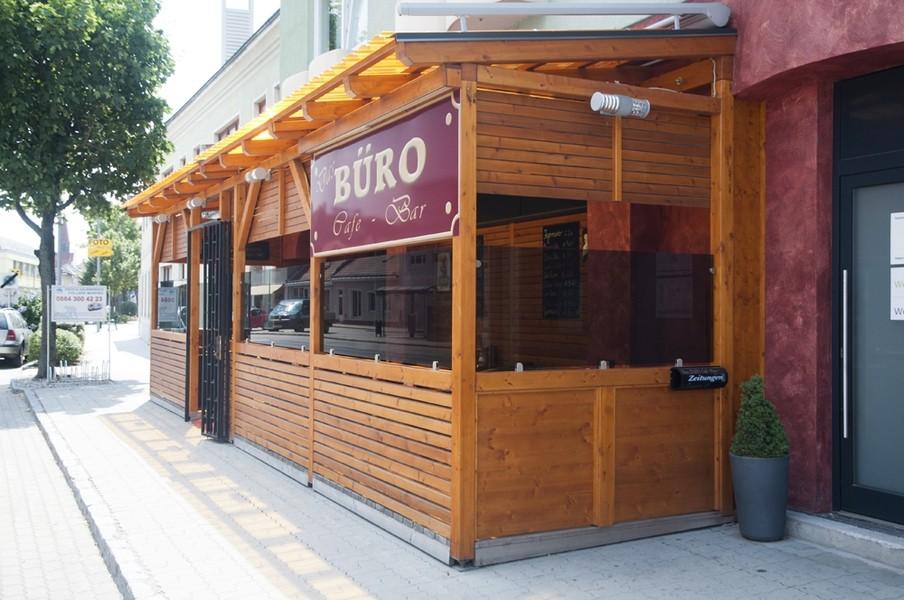 Das Buro Cafe Bar Aussen9 Das Buro Cafe Bar