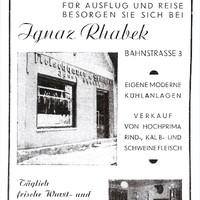 Fleichhauerei Rhabek