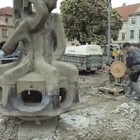 Seilsägen Skulptur 33