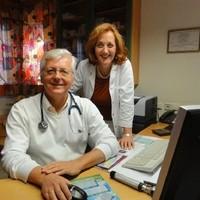 Dr. Ferdinand Stegfellner mit Gattin Christine