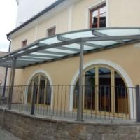 Lubinger Freistadt Vordach