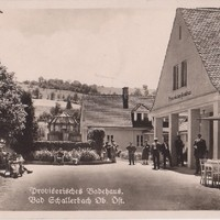 Provisorisches Badehaus 1929