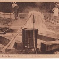 Die Schwefelthermalquelle wurde 1918 erschlossen.