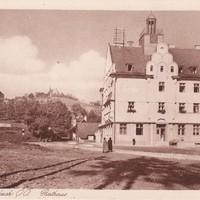 1923-1924 Bau des Rathauses
