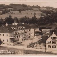 Kurhaus der Bezirkskrankenkassen Ansichtskarte von 1928