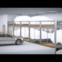 TrendVario 4300 - The urban trend in parking - 1 pit / 3 levels