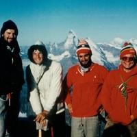 Gipfel Mont Blanc August 1976